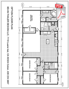 PDF floorplan prefabricated house